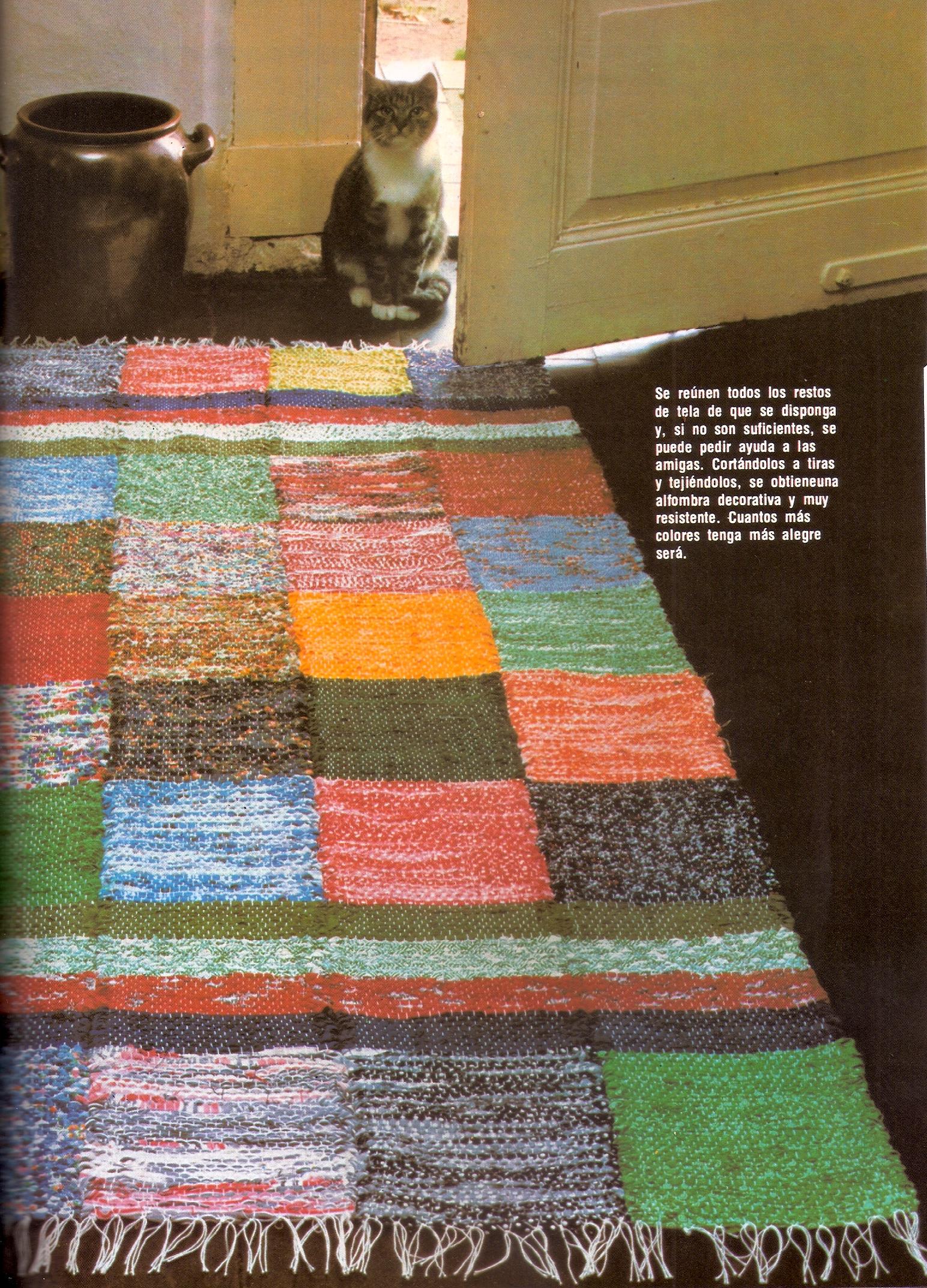 Como hacer una alfombra con retazos de tela todo for Todo alfombras